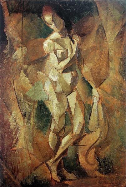 Jean_Metzinger,_1911,_Nu_(Nu_debout),_oil_on_carton,_52_x_35_cm._Reproduced_in_Du_-Cubisme-,_1912